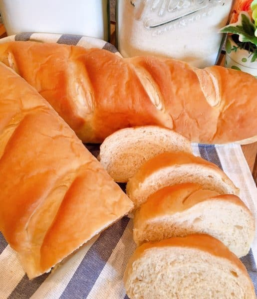 Baked Homemade Soft French Bread