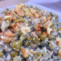 Grandma's Pea Salad with Peanuts