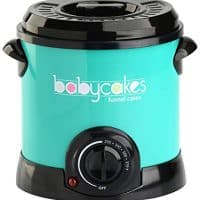 Babycakes DF-101 Funnel Cake Fryer, Turquoise