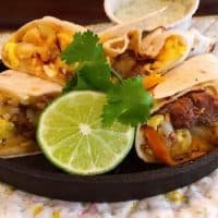Make Ahead Freezer-Friendly Breakfast Burrito's