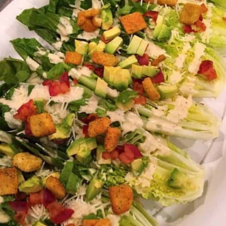 Caesar Salad Wedges
