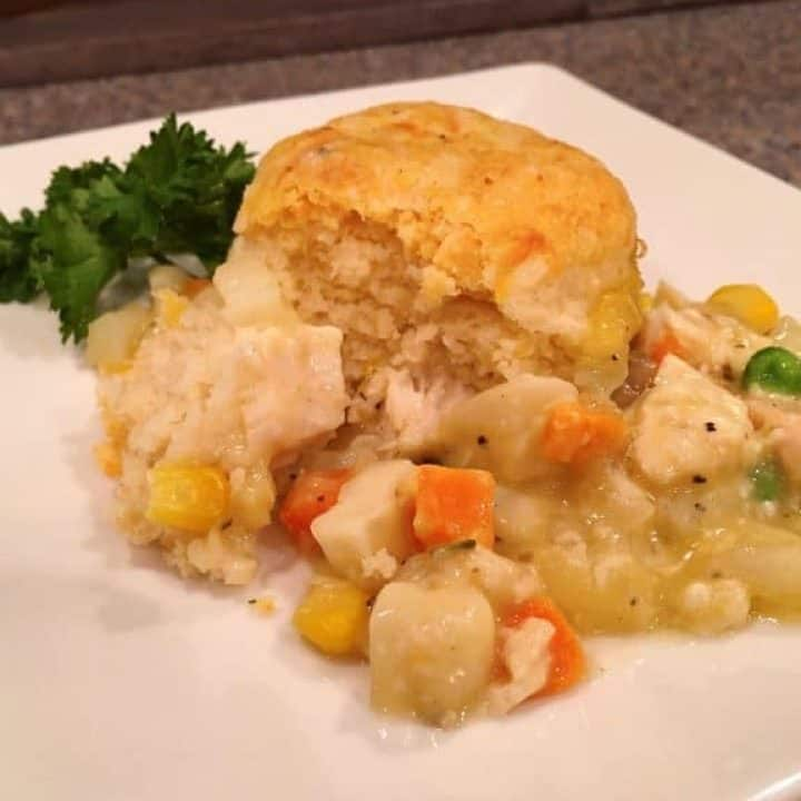 Chicken Biscuit Pot Pie