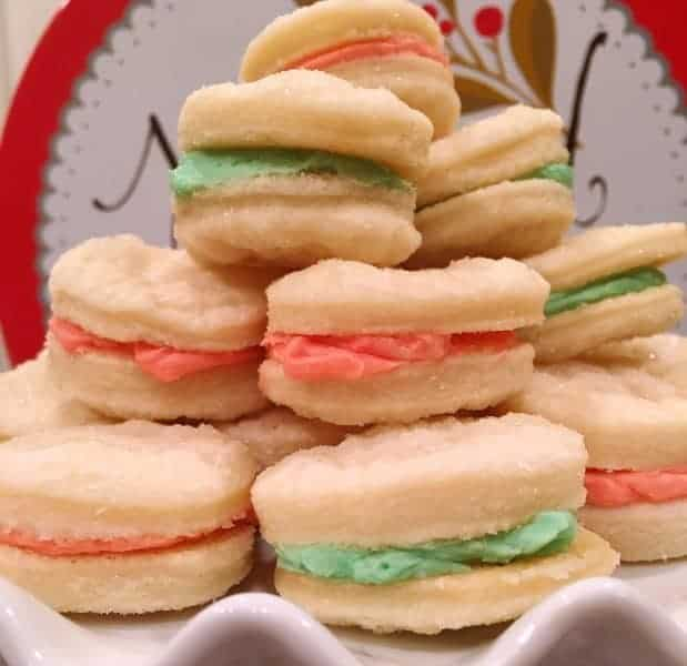 Delicate,light, flaky, melt in your mouth pastry cookies are filled with sweet cream filling. Such a wonderful delicious cookie you'll have to have more than one!
