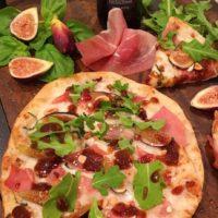 Fig Prosciutto Hazelnut Pizza With Balsamic Glaze