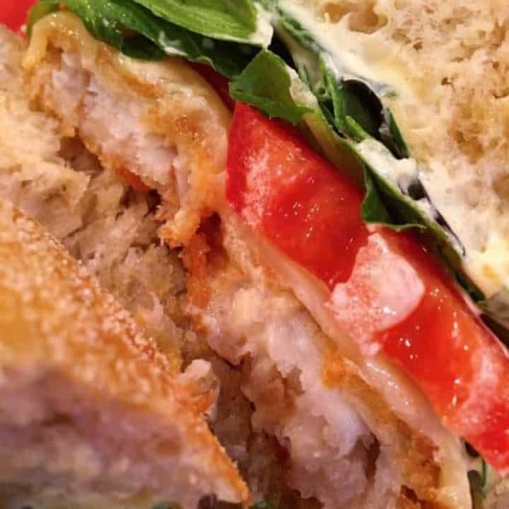 Crispy Fried Fish Sandwich