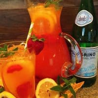 Mango Strawberry Lemonade