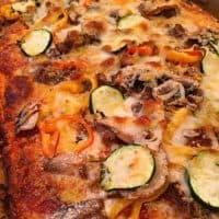 Homemade Garden Pizza