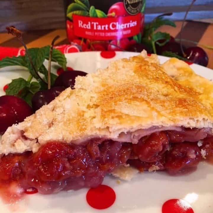 Traditional Homemade Cherry Pie