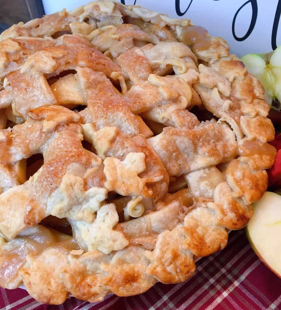Spiced Caramel Apple Pie