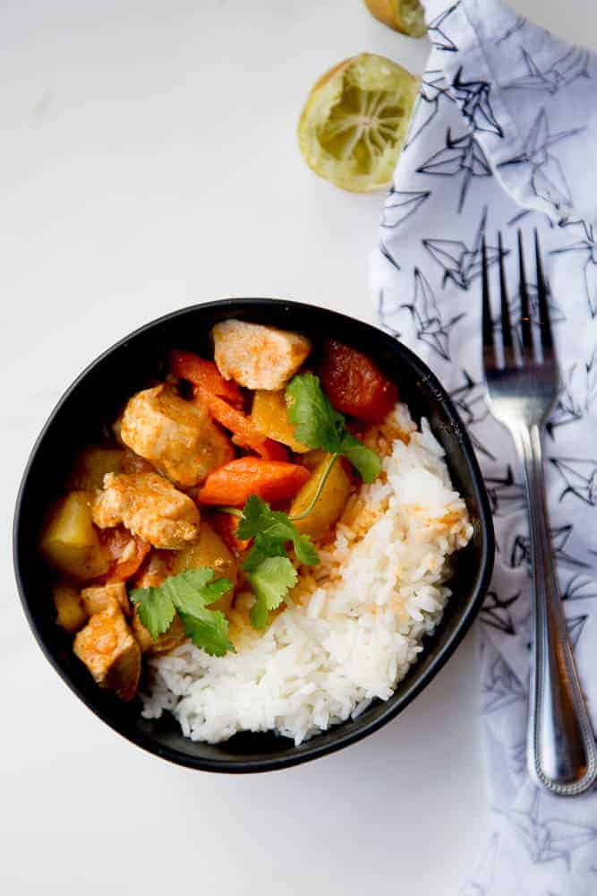 Easy Thai Chicken Curry for Instant Pot