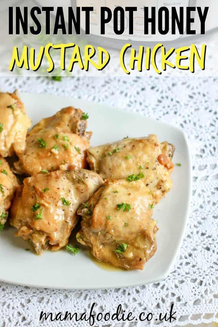 Creamy Honey Mustard Chicken Instant Pot Recipe