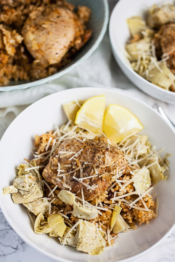 Instant Pot Mediterranean Chicken and Rice