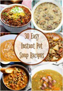 Instant Pot Soup Recipe Pinterest image