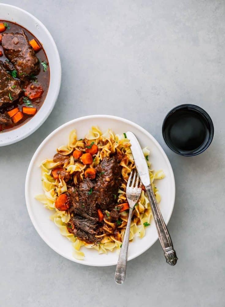 Instant Pot Beef Short Ribs - Boneless!