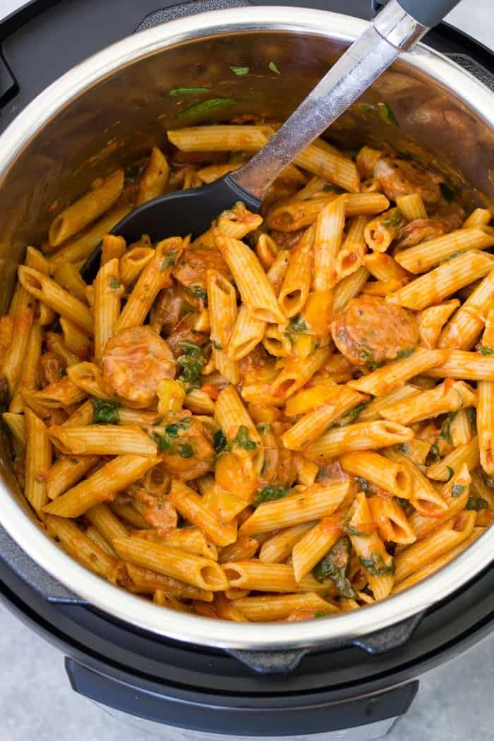 Instant Pot Pasta with Sausage