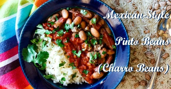 Mexican-Style Charro Pinto Beans