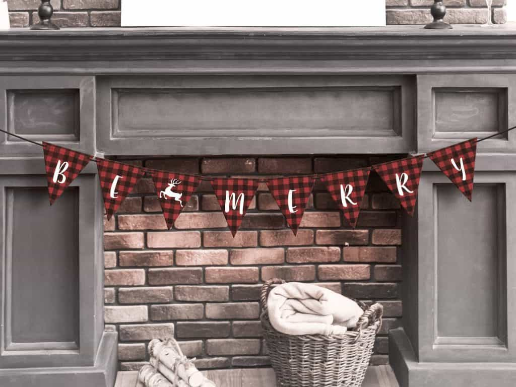 Be Merry Banner