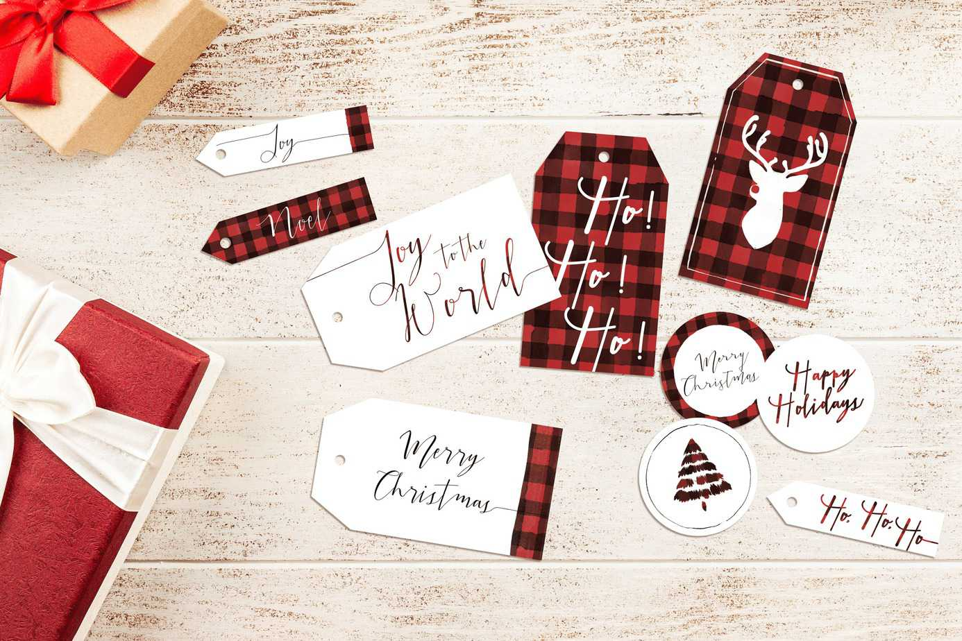 Printable Tags for Christmas
