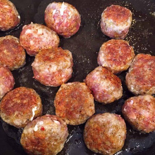 Browned Sausage Balls