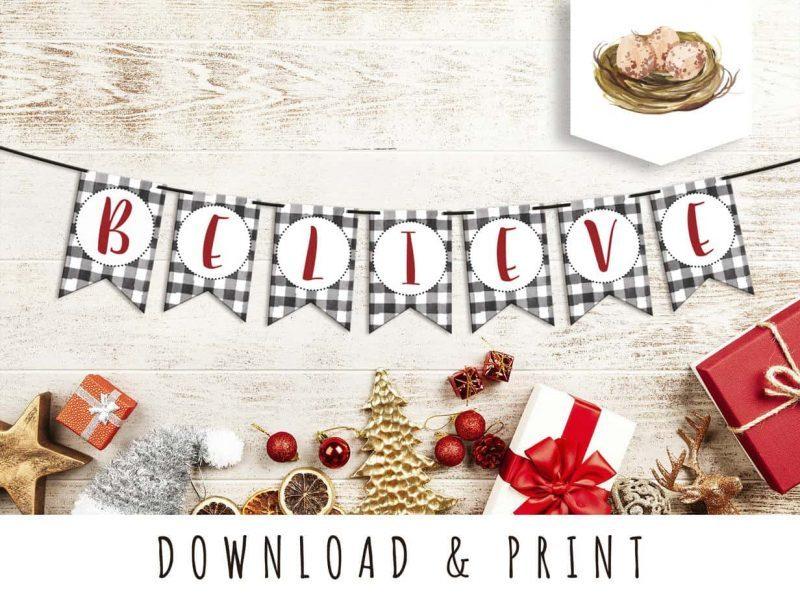 Believe download printable