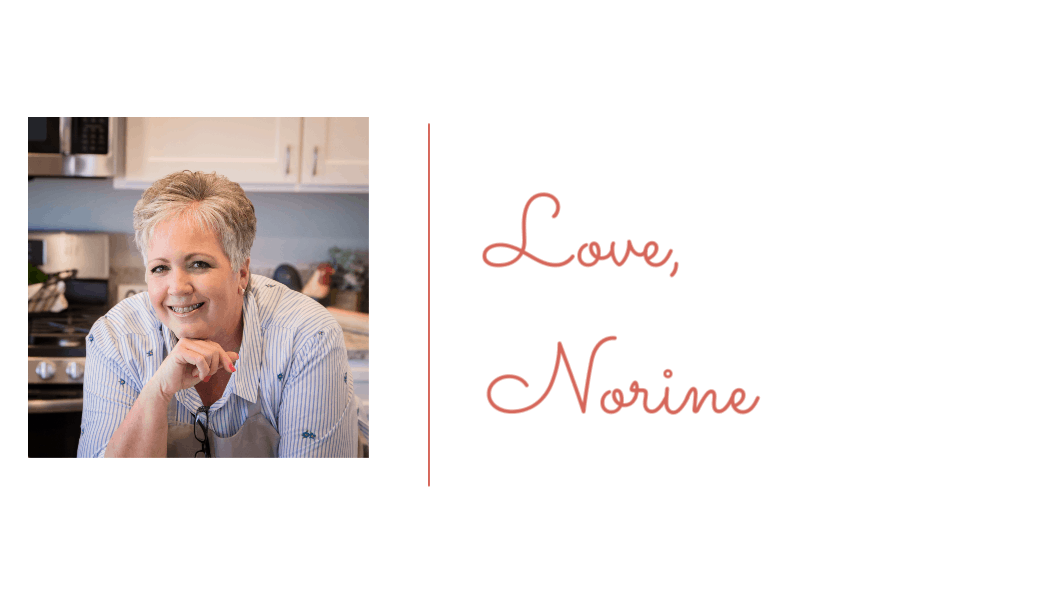 Signature and photo for Norine