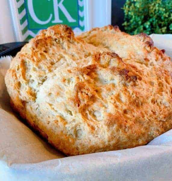 Irish Soda Bread out of the Oven