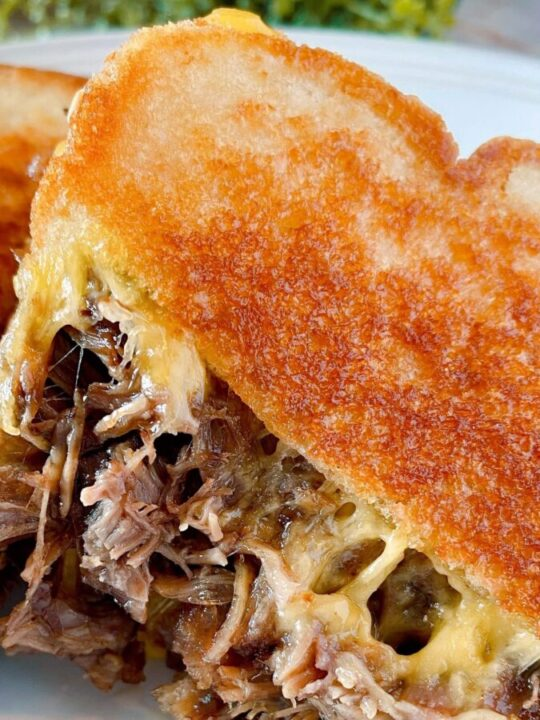 Grilled Roast Beef and Chesse