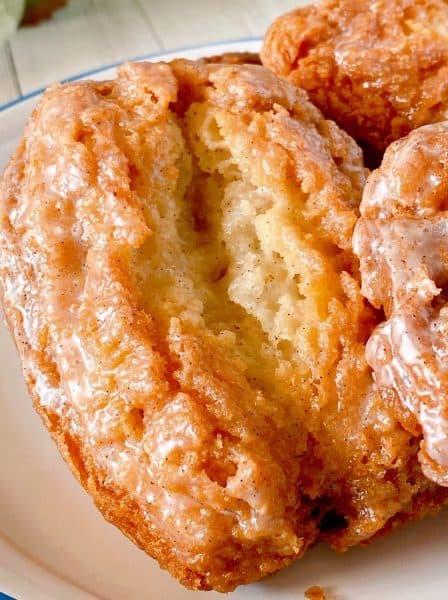 Buttermilk Bar Donut close up.