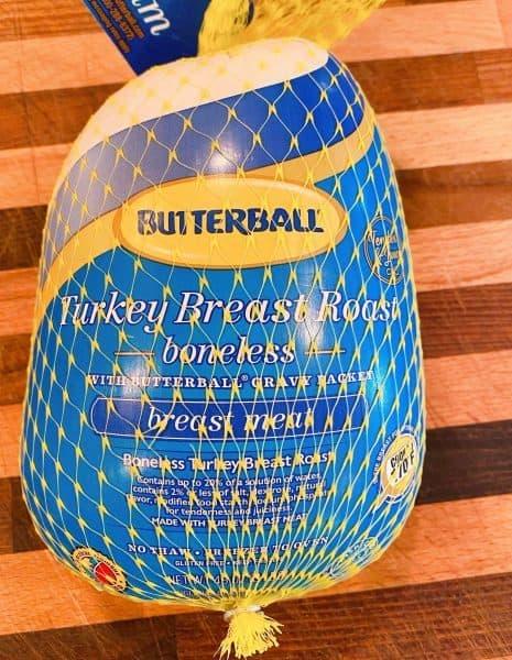 Butterball Turkey Roast in the packaging
