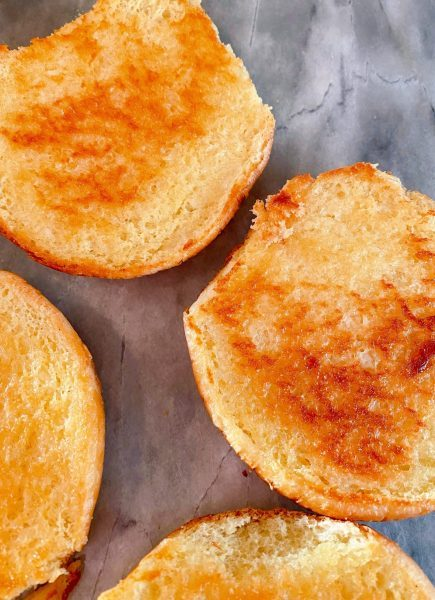 Toasted Buns for Sloppy Joes