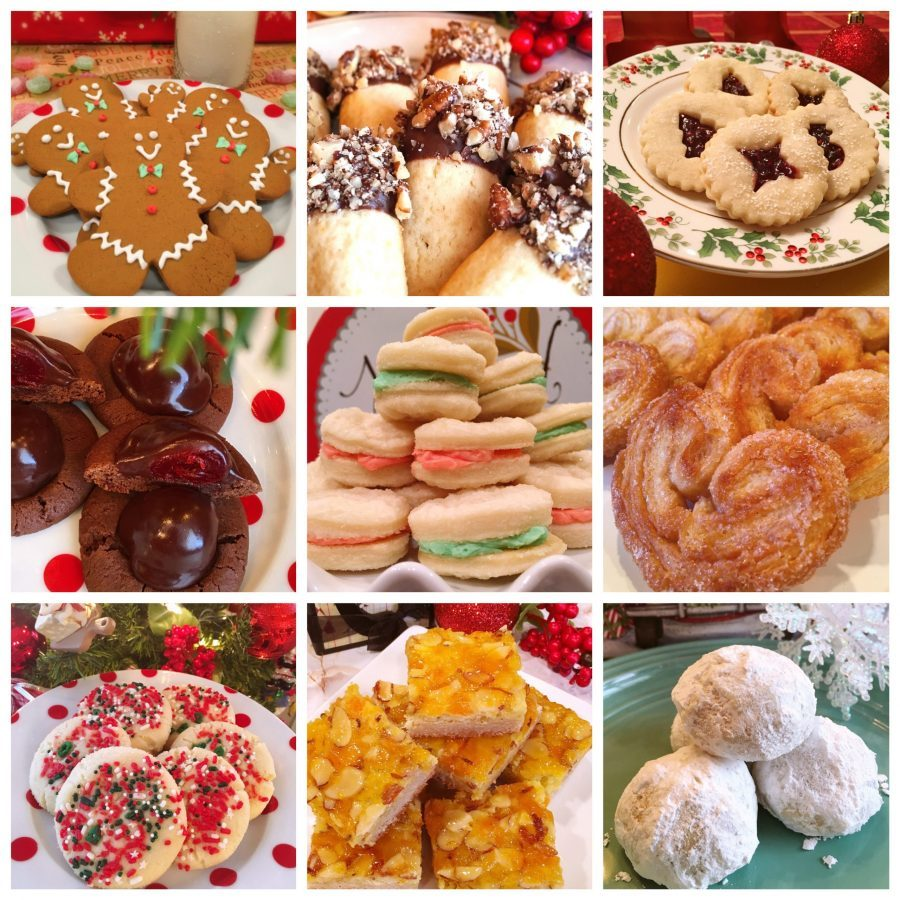 The Best Christmas Cookie Collage