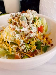 Classic Wedge Salad with Blue Cheese