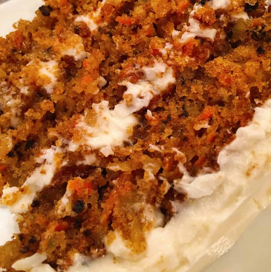 Carrot Cake With Walnuts Raisins