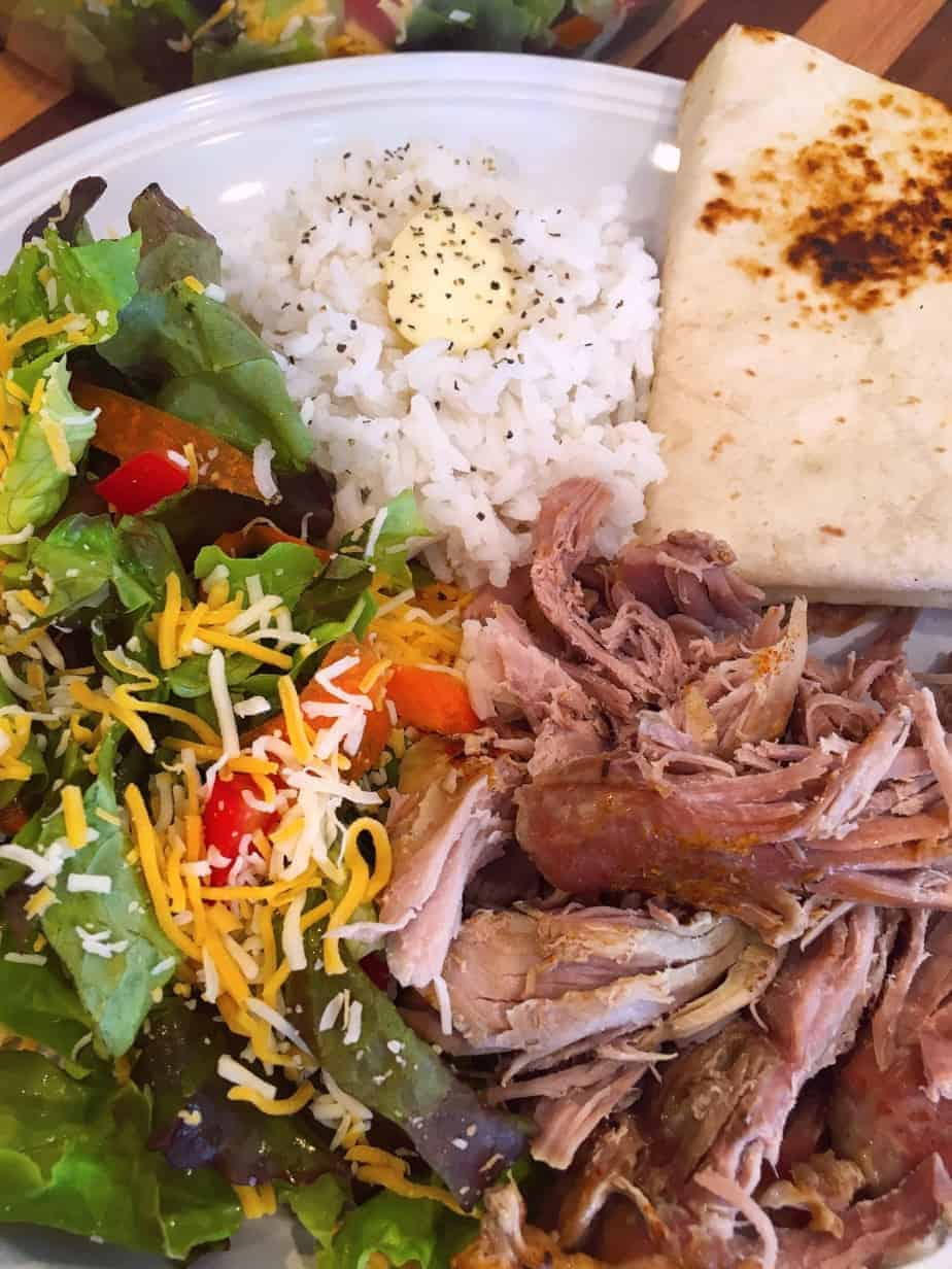 Shredded Pork Roast Wraps   Norine's Nest