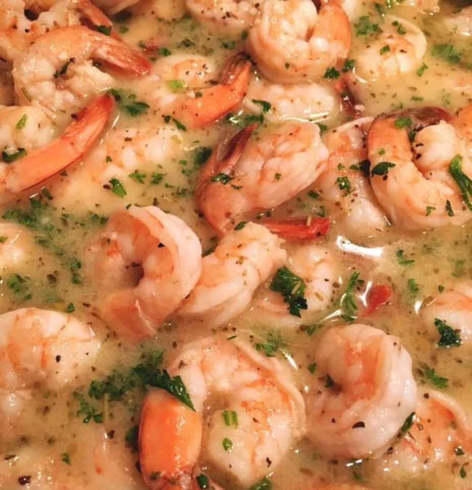 Shrimp Scampi with Linguine | Norine's Nest