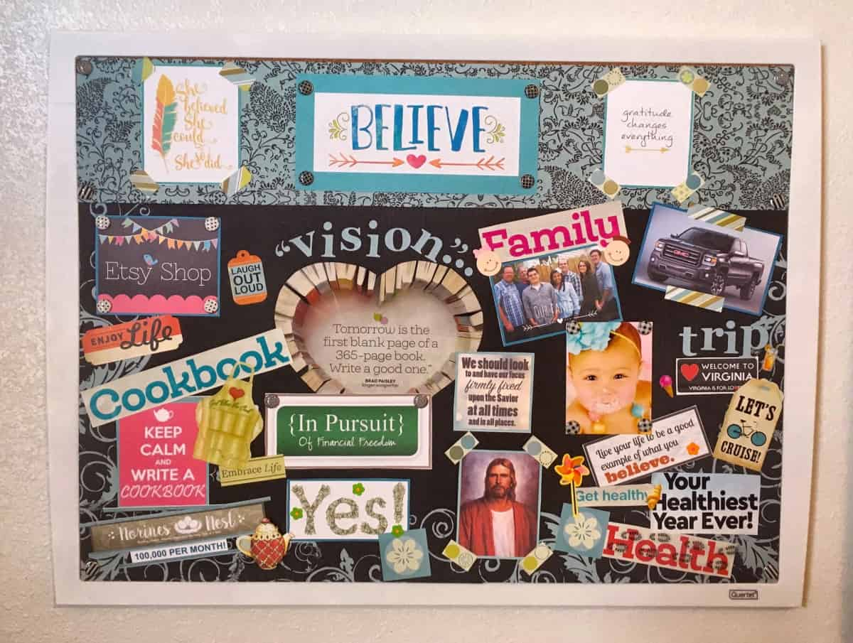 Creating A Vision Board Norines Nest